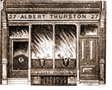 Albert Thurston's first shop